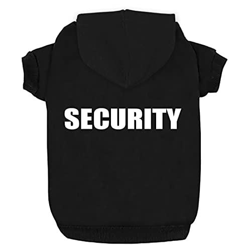 Izefia Hunde Kapuzenpulli Security Rdc Pet Bekleidung Hunde Shirt Wärmer Pullover Baumwoll Jackett...