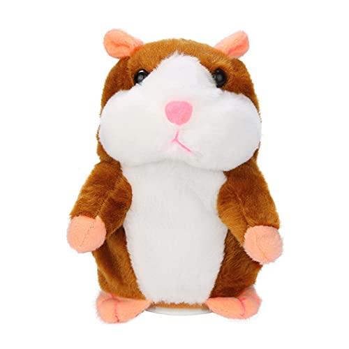 Sprechender Hamster Plüsch-Spielzeug Wiederholt was Sie Sagen Mimikry Haustier Elektronische Sprechende...