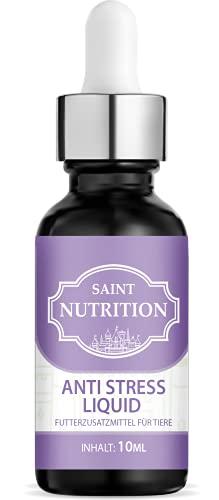 Saint Nutrition Anti Stress Hanföl – Beruhigungsmittel aus 100% pflanzlichem Hanfoil für Tiere –...