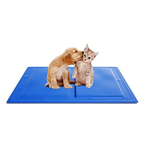 KORIMEFA Hundekühlmatte Haustierkühlmatte Selbstkühlendes Pad, ideal für Hunde und Katzen im heißen...