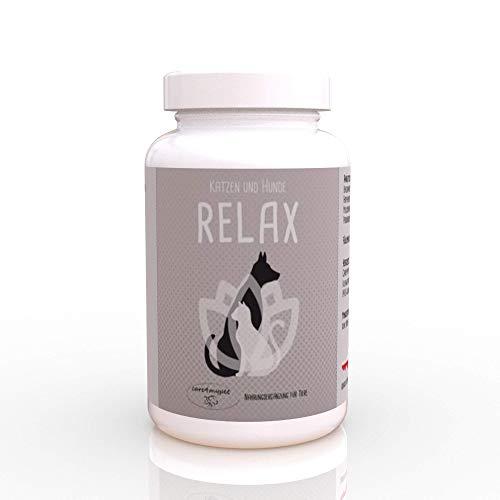 Care4mypet Relax ist eine spezielle Mischung zur Beruhigung für Hunde & Katze. Entspannung & Beruhigung...