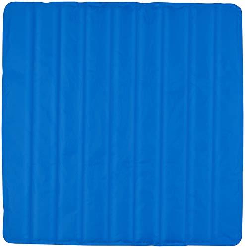 Newgen Medicals Kühlmatratze: Kühlende Matratzenauflage, 90 x 90 cm, wiederverwendbar, blau (Kühlende...