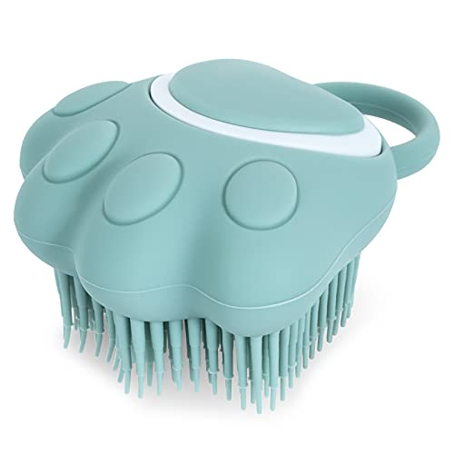 Molain Katzen- und Hunde-Bürste aus Silikon, Massagebürste für Hunde und Katzen, zur Fellpflege,...