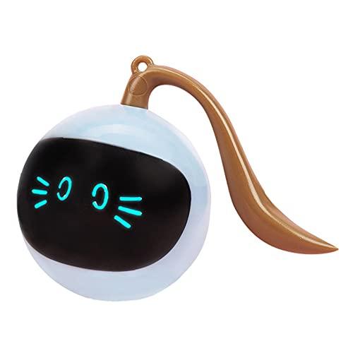 SOBW Haustier Katze Bunte LED intelligentes interaktives Spielzeug Kätzchen elektronische automatische...