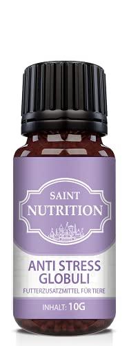 Saint Nutrition NEU Anti Stress Globuli für Hunde und Katzen, unterstützend bei Panikattacken, innere...