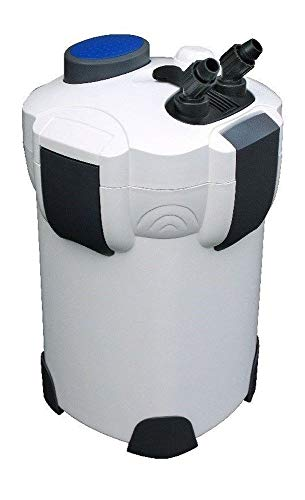 AquaOne Aquarium Außenfilter HW-304A Filter 2000 L/h 1000l Becken Filtermaterial Pumpe Schwammfilter...