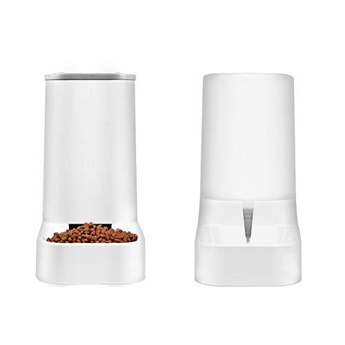Desoon Automatischer Futterautomat für kleine und mittlere Haustiere,Automatisches Bewässerungs- und...