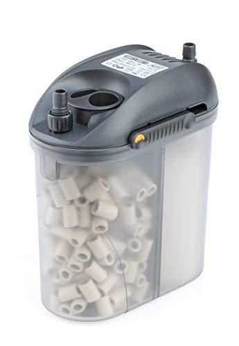 Eden 57260 501 Außenfilter 5 W 300 l/h - Filterung, Reinigung und Aufbereitung von Aquarien zur Montage...
