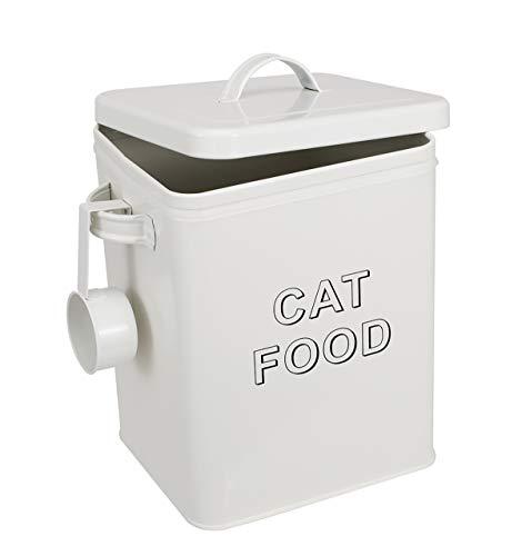 Brabtod Frischhaltedose mit Deckel, luftdicht, aus Edelstahl, für Leckerlis, für Haustiere, Katze,...