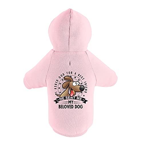 BedDog® Hoodie für Hunde, Sweater für Französische Bulldogge Jack Russell Terrier Parson York,...