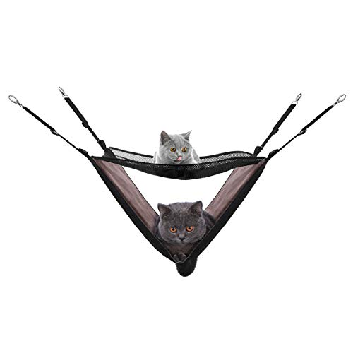 POPETPOP Katzen Hängematte Hängendes Bett für Katzen, Ratte, Kaninchen, Kleine Hunde
