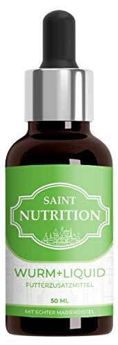 Saint Nutrition® Wurm+ Liquid Vegan, Flüssige Wurmkur & natürliche Entwurmung - besonders zu empfehlen...
