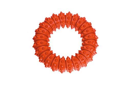 Karlie Zahnpflege Schwimmring, Boomer Aqua Ring, Vollgummi, 12,5 cm