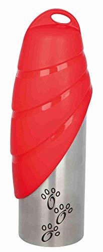 Trixie 24606 Flasche mit Trinknapf, Edelstahl/Kunststoff, 0,75 l