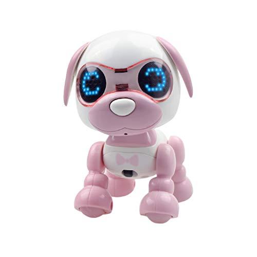 LEEDY Elektronische Haustiere Roboter Interaktive Smart Puppy Roboter Hund LED Augen Tonaufnahme Singen,...