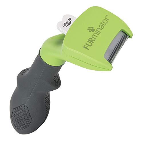 FURminator deShedding-Tool Hund Größe S Kurzhaar - Hundebürste für kleine Hunde zur Entfernung der...