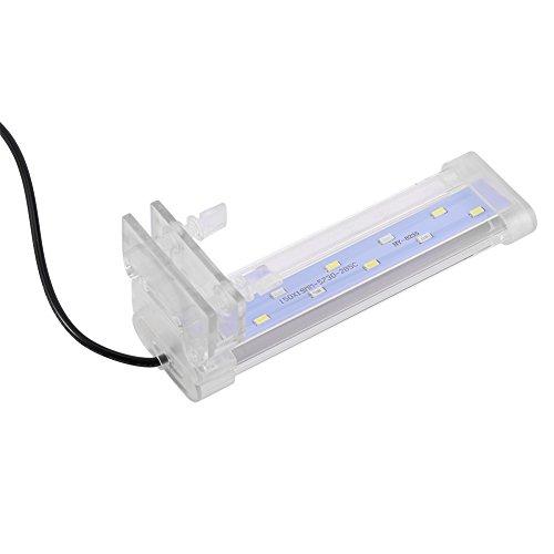Fdit Aquarium LED Licht Aquarium Lampe Pflanze wachsen Beleuchtung mit Clip für Aquarium Aquarium...