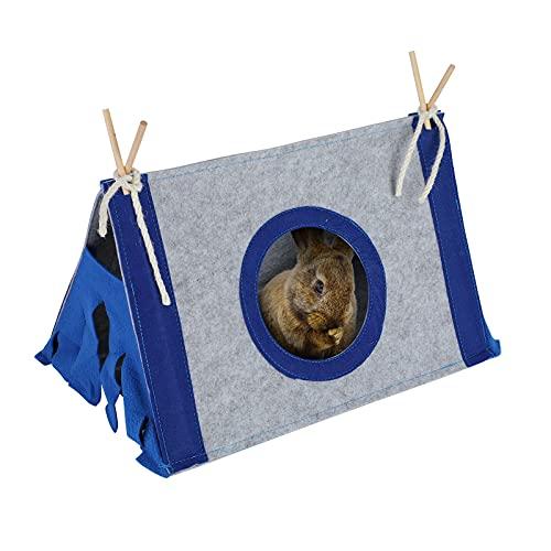 Lifemaison Katzenzelt, Haustiertipi, Hundezelt, Haustierbett für Katzen und Hunde, Tipi-Zelt mit...