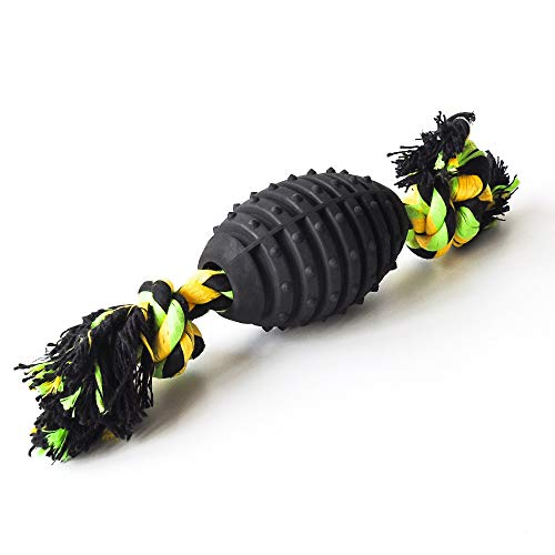 Fidelity Seller Hundespielzeug, langlebig, interaktiv, mit Seil, Kauspielzeug für große aggressive...