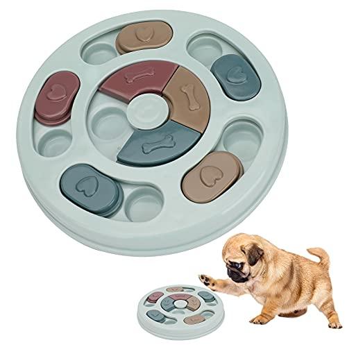 Upkey Hundepuzzle Spielzeug Hund Puzzle Feeder Interaktives Spielzeug für Hunde Hundespielzeug...