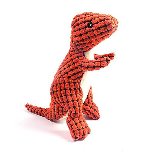 JIANGAA Hund Squeak Spielzeug, weiches Haustier Kauen Plüschtier, Interesting Interactive Squeak...