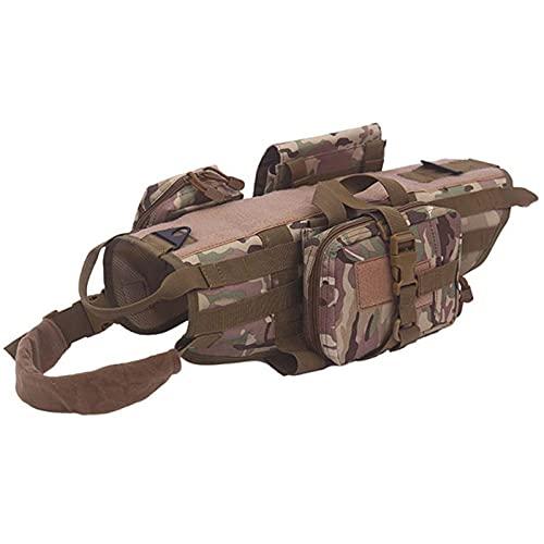 Outdoor Taktische Hundekleidung Große Hundekleidung Taktische Molle Hundeweste Kampfweste Set