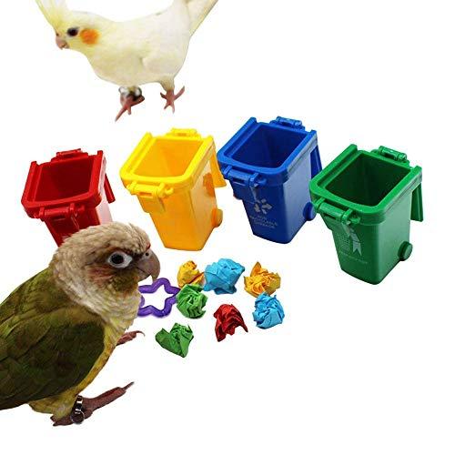 Papageienspielzeug für Vögel, Farbsortierung, Vogelspielzeug, Papageien, Stehen, Training, Spielzeug,...