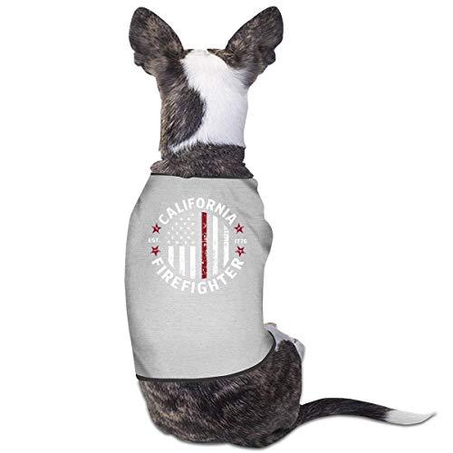 Florasun Hunde-Shirt für Katzen und kleine Hunde und Katzen, Größe M, Grau