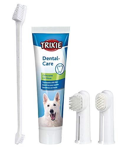 Trixie 2561 Zahnpflege-Set, Hund