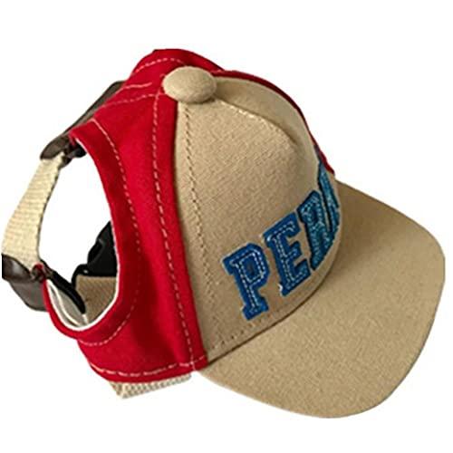 PiniceCore 1 Stück Pet Hund Baseballkappe Hund Casual Visor Hüte Sport Baseball Hut Kappe