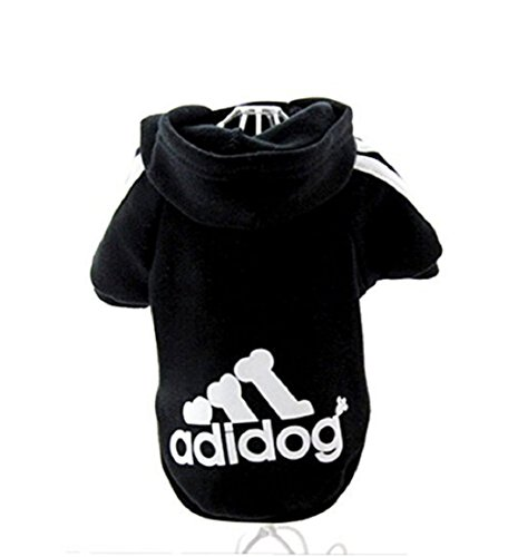 """KayMayn Hunde-Pullover mit Kapuze, mit Aufschrift """"Adidog"""", sportlicher Look, 7 Farben, in den..."""