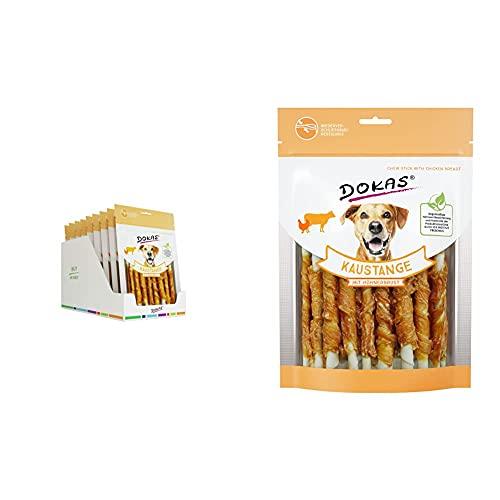 DOKAS Kaustange – Getreidefreier Premium Kausnack für Hunde 9 x 200g & Kaustange – Getreidefreier...