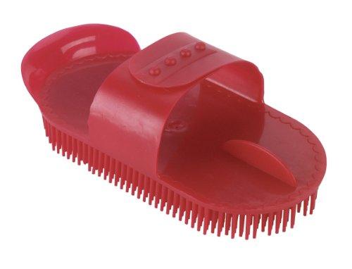 Kerbl Kunststoffnadelstriegel rot