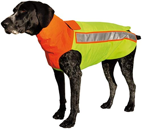 HUBERTUS Hunde Schutzweste mit Kevlar Gr. L