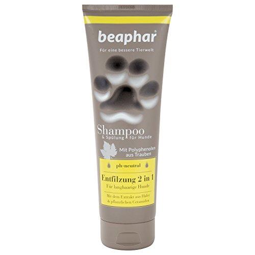 Premium Shampoo Entfilzung 2 in 1 für Hunde   Hundefell entfilzen   Für langhaarige Hunde   pH neutral...
