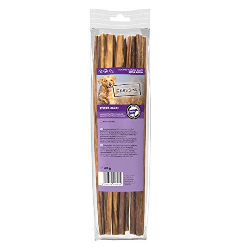 Chewies Sticks Maxi Rind Kaustangen - Hundeleckerli für große und kleine Hunde, wie Spaghetti Leckerlie...