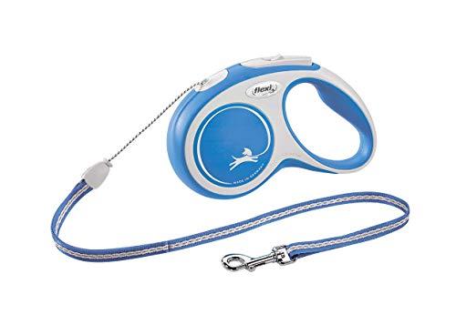 flexi New Comfort S Seil 5 m blau für Hunde bis 12 kg