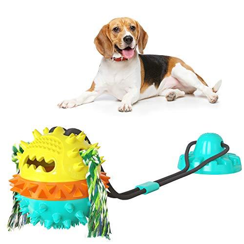 CALORPET Pet Molar Bite Spielzeug, Hundebissspielzeug, Hundesaugnapf zum Reinigen der Zähne,...