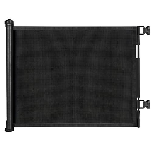 Treppenschutzgitter Ausziehbar, Türschutzgitter,0-150 cm Einziehbares Tür- und Treppenschutzgitter für...