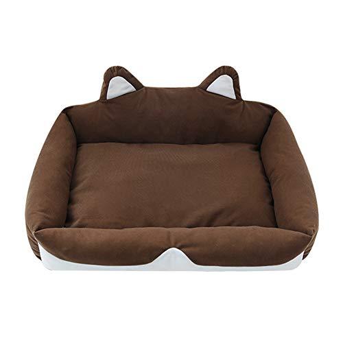 Gofeibao Hundehöhle Kleine Hunde Hundebett Katzenbetten Hund Betten Kleine Plüsch Katze Bett...