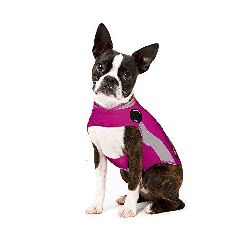 Thundershirt Beruhigungsweste, Hundemantel für ängstliche Hunde, Größe XS, Polo pink, 99021