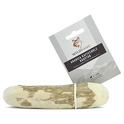 Wildfang® | Kauwurzel aus Kaffeeholz für Hunde I Kaustab Hundespielzeug Holzknochen - 3 in 1...