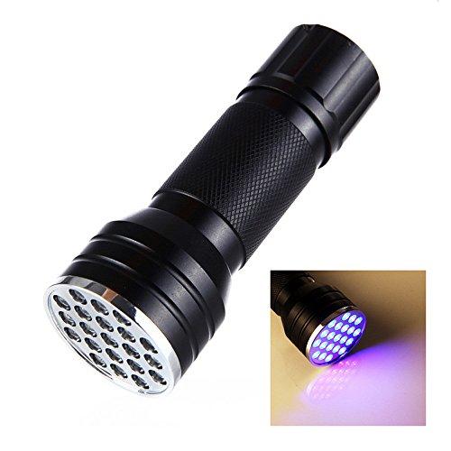 mxjeeio UV Schwarzlicht Taschenlampe mit 51 LEDs | Haustiere Urin-Detektor für Eingetrocknete Flecken...