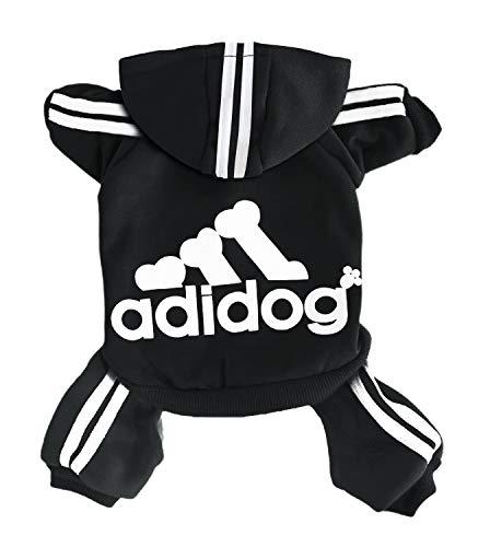 Rdc Pet Adidog Dog Hoodies, Clothes,Fleece Jumpsuit Warm Sweater,4 Legs Cotton Jacket Sweat Shirt Coat...