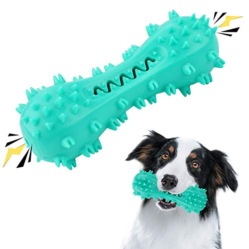 SNUNGPHIR Hundespielzeug Hundezahnbürste Hundezahnpflege Spielzeug Langlebiges Kauspielzeug für...