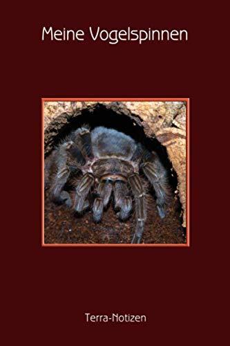 Meine Vogelspinnen Terra-Notizen: Brachypelma Albopilosum, Kraushaarvogelspinne mit Beute,...