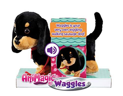 Animagic 31290 - Waggles, der Dackel, der wackelt - Elektronisches Haustier, ab 4 Jahren
