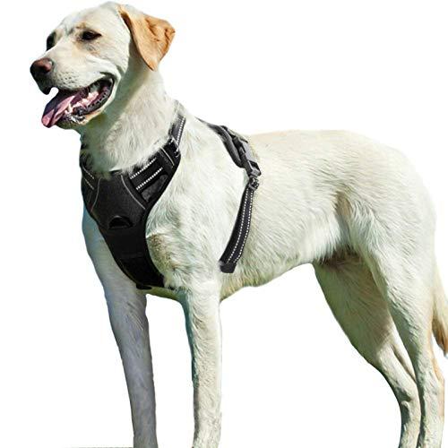 Eagloo Hundegeschirr Geschirr für Große Hunde Anti Zug Mittelgroße Brustgeschirr No Pull...