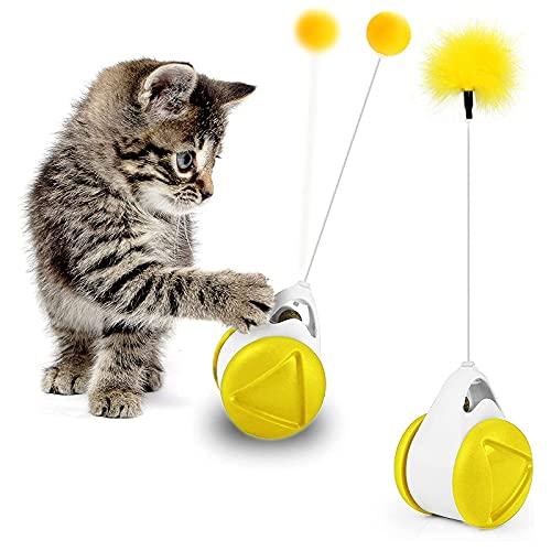 AVNICUD Katzen Spielezeug, Katzenminze, Interaktives Katzen Spielsachen, Intelligenzspielzeug für...