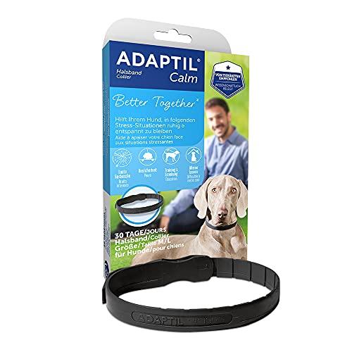 ADAPTIL® Calm Halsband für mittelgroße-große Hunde | Anti Stress Halsband Hund | Halsumfang bis...